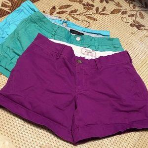 Bundle of size 8 Aeropostale and Old Navy shorts